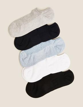 Kadın Beyaz 5'li Çorap Seti