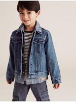 Erkek Çocuk Lacivert Denim Ceket