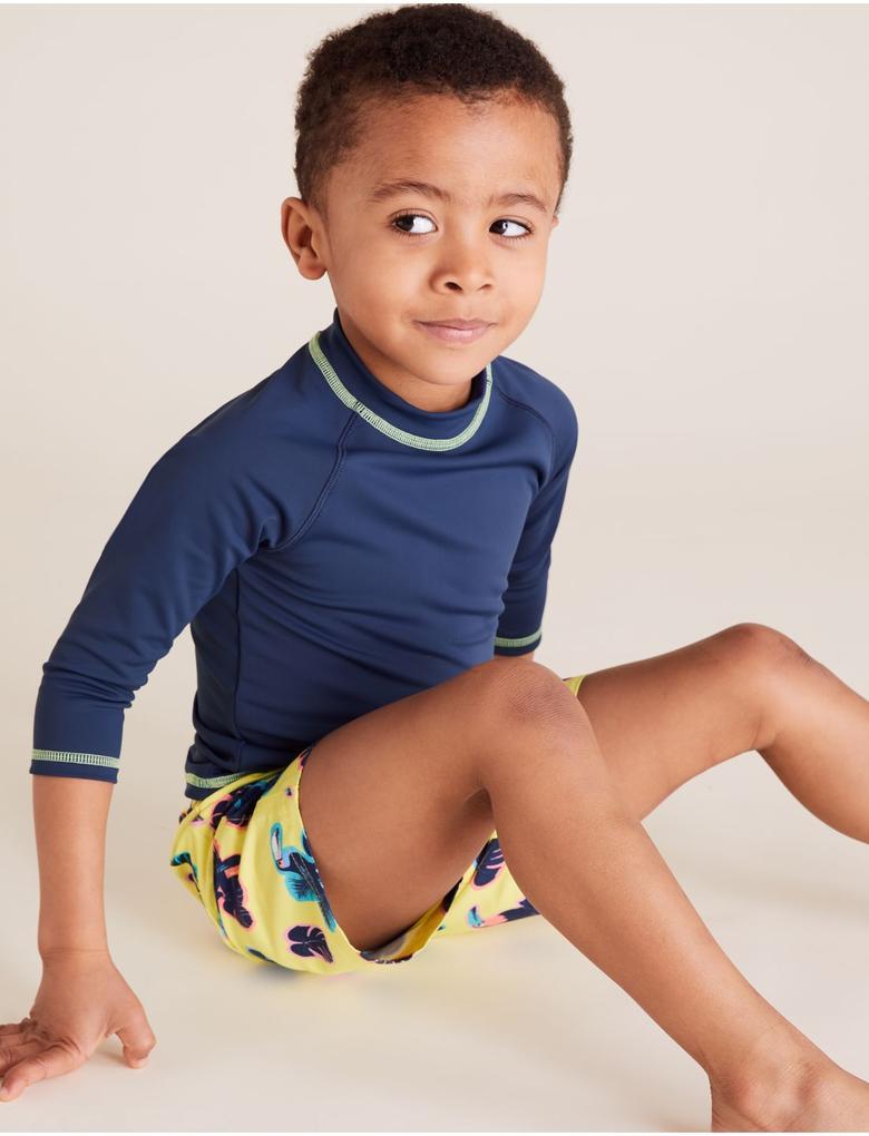 Erkek Çocuk Multi Renk 2'li Mayo T-Shirt