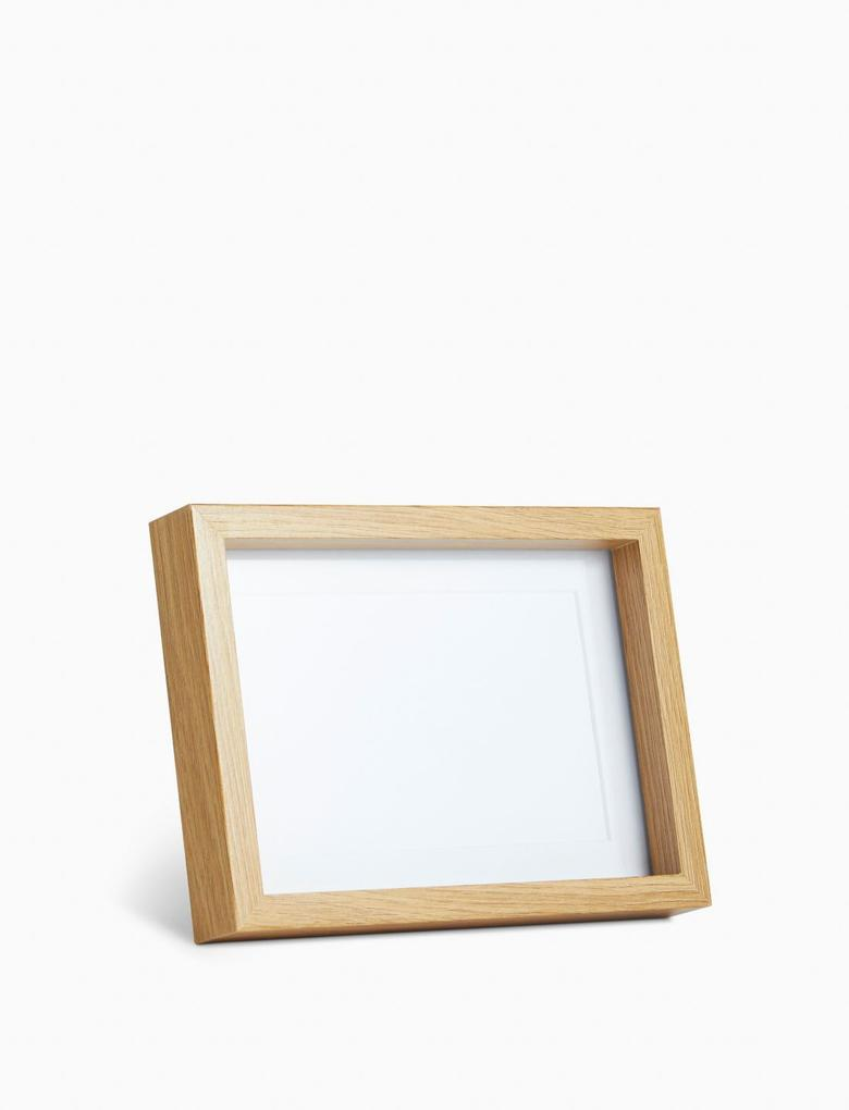 Ev Krem Ahşap Fotoğraf Çerçeve (10x15 cm)
