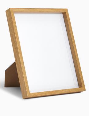 Ev Krem Ahşap Fotoğraf Çerçevesi (20 x 25cm)