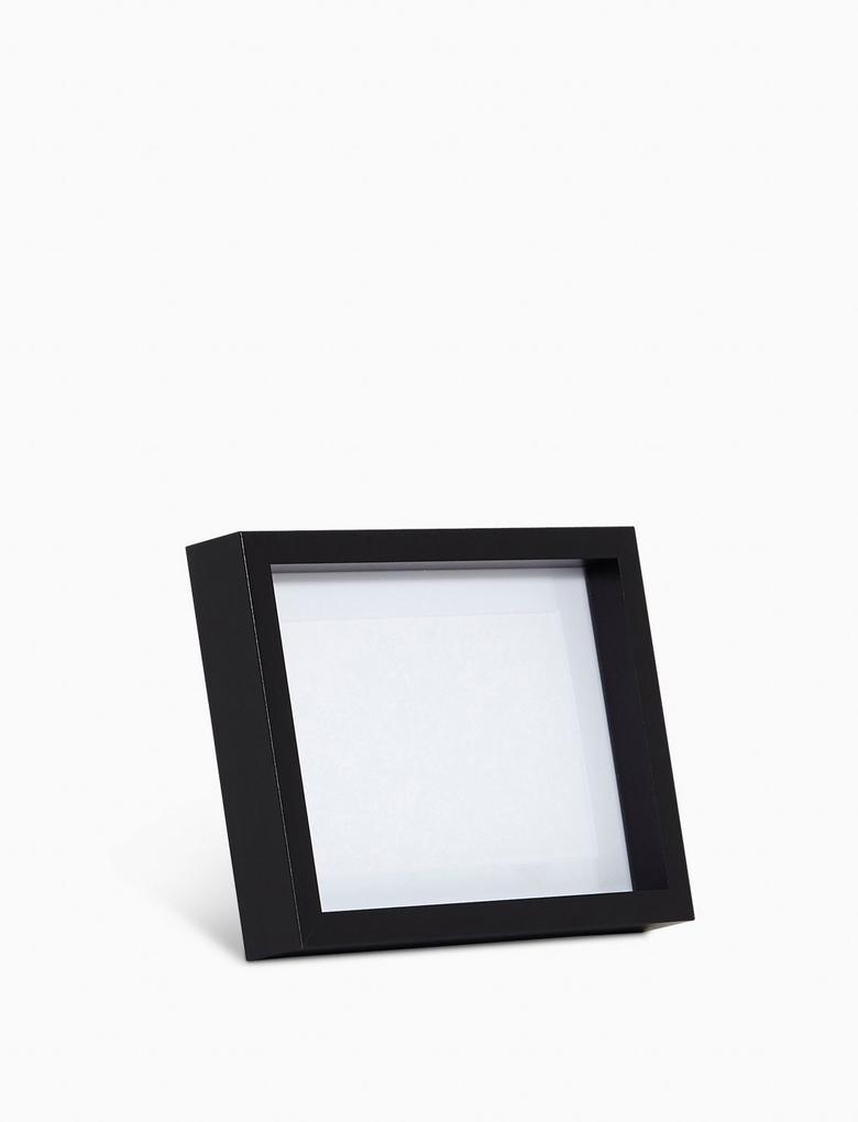 Ev Siyah Ahşap Fotoğraf Çerçeve (10x15 cm)