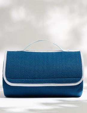 Ev Mavi Katlanabilir Piknik Örtüsü
