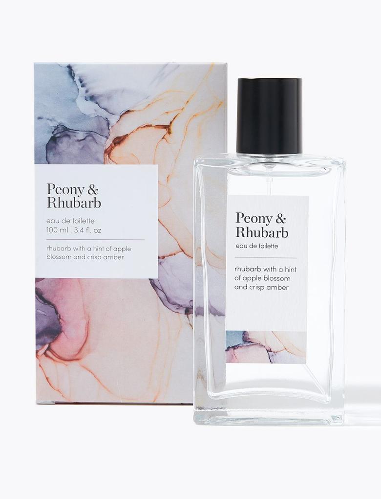 Kozmetik Renksiz Peony & Rhubarb Eau de Toilette Parfüm