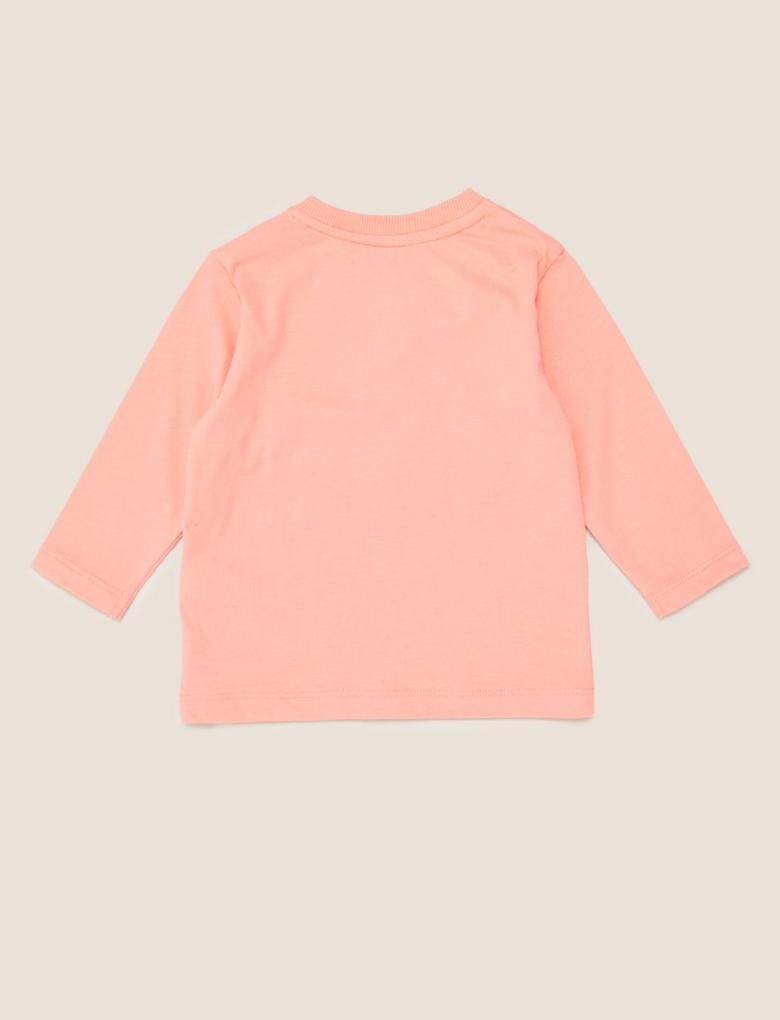 Bebek Kırmızı Desenli T-Shirt