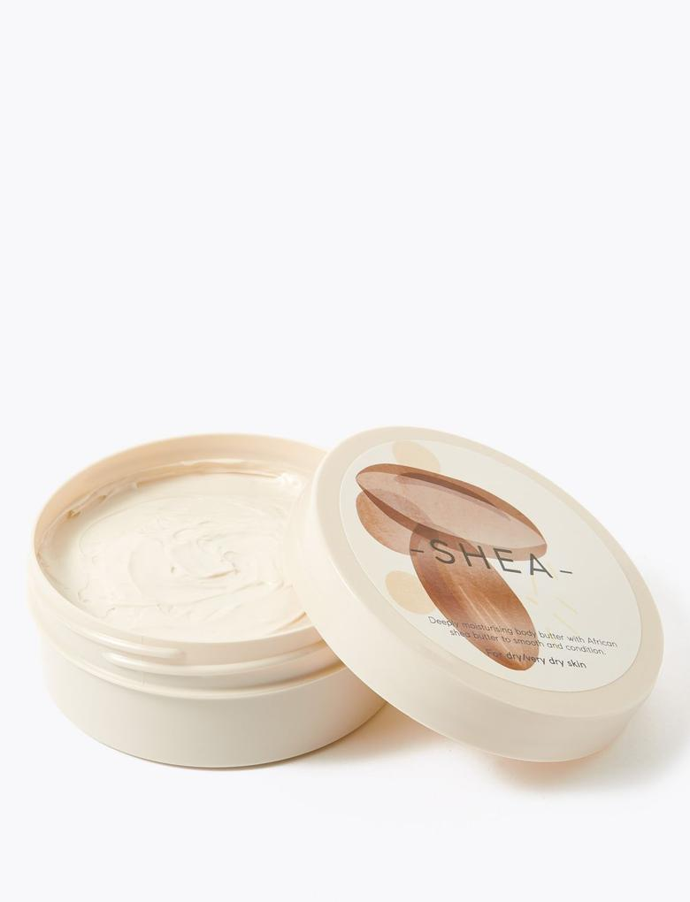 Kozmetik Renksiz Shea Butter Vücut Krem