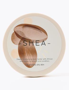 Kozmetik Renksiz Shea Butter Kokulu  Vücut Krem