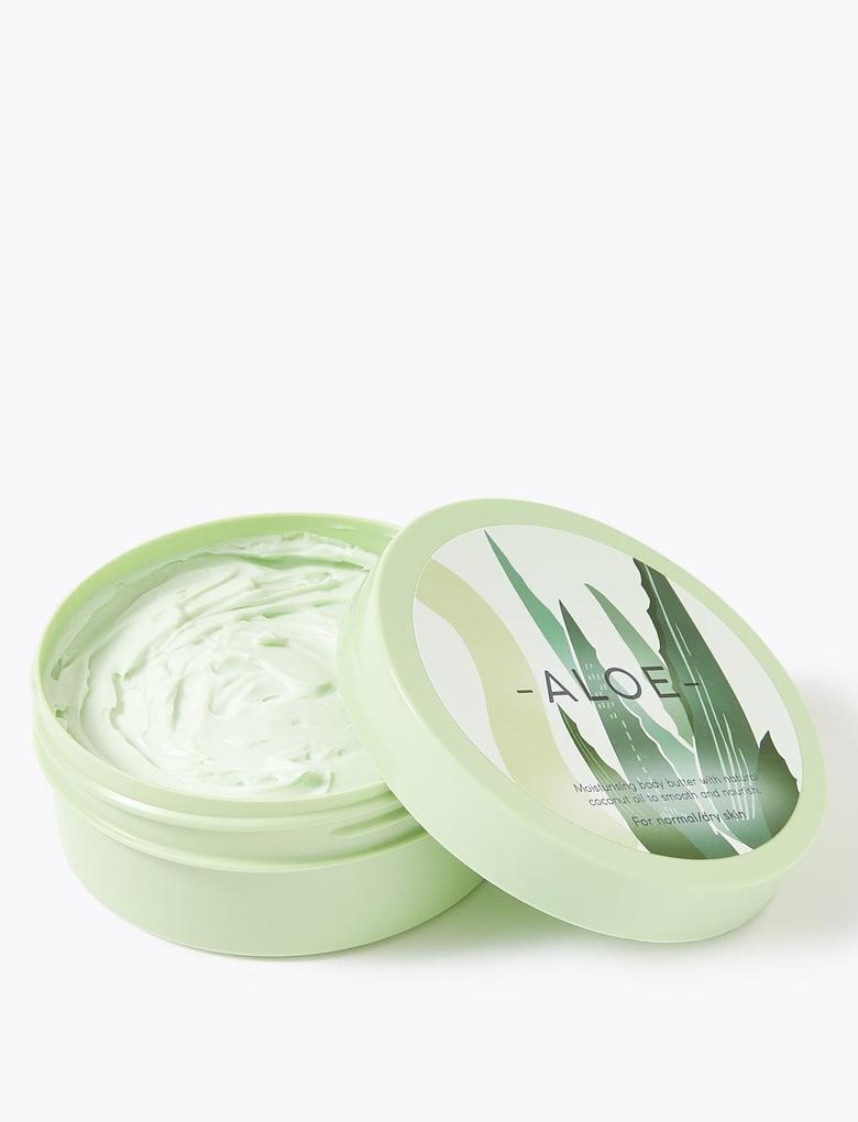 Kozmetik Renksiz Aloe Vera Butter Krem