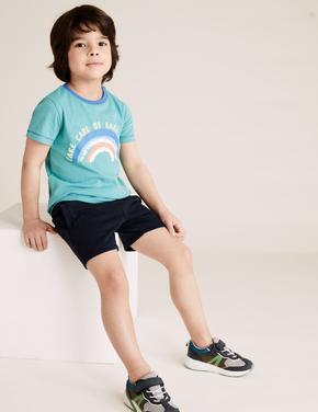 Erkek Çocuk Lacivert Regular Denim Şort