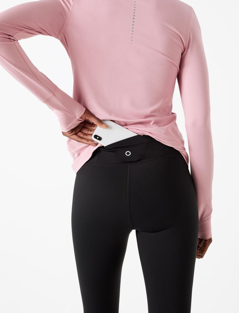 Kadın Siyah Leggng Active Tayt