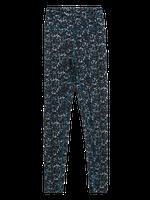 Kadın Siyah Desenli Legging Tayt