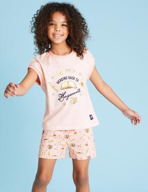 Çocuk Pembe Harry Potter™ Baskılı Pijama Takımı