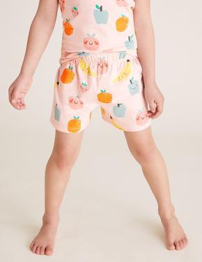 Çocuk Multi Renk Köpek Baskılı Pijama Takımı
