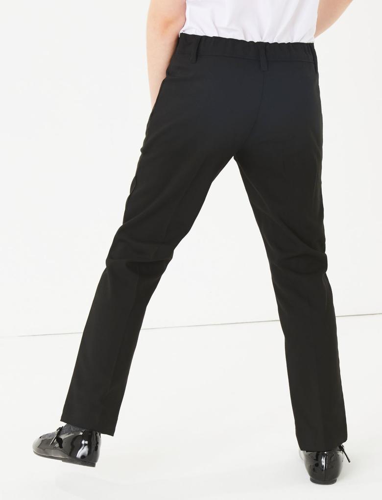 Çocuk Siyah Slim Fit Pantolon
