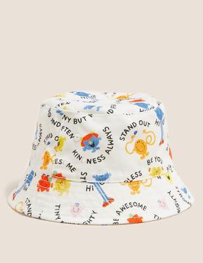 Beyaz Desenli Şapka