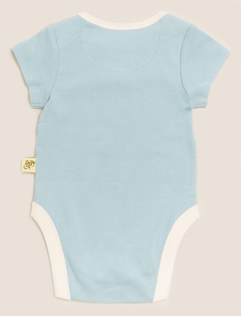 Bebek Multi Renk 3'lüHarry Potter™ Baskılı  Body Seti
