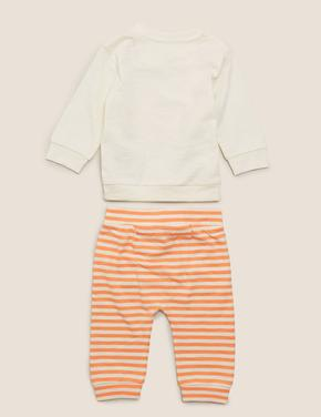 Bebek Turuncu 2'liMr Men™ Baskılı Takım