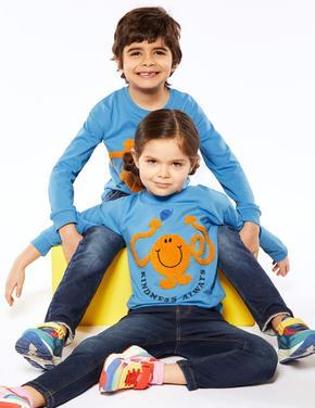 Erkek Çocuk Multi Renk Mr Tickle™ Baskılı T-Shirt