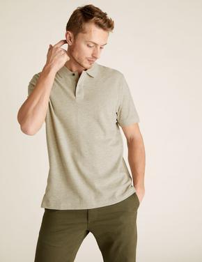 Krem Polo  Yaka T-Shirt