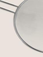 Ev Gümüş Yağ Sıçratmaz 29cm Kapak