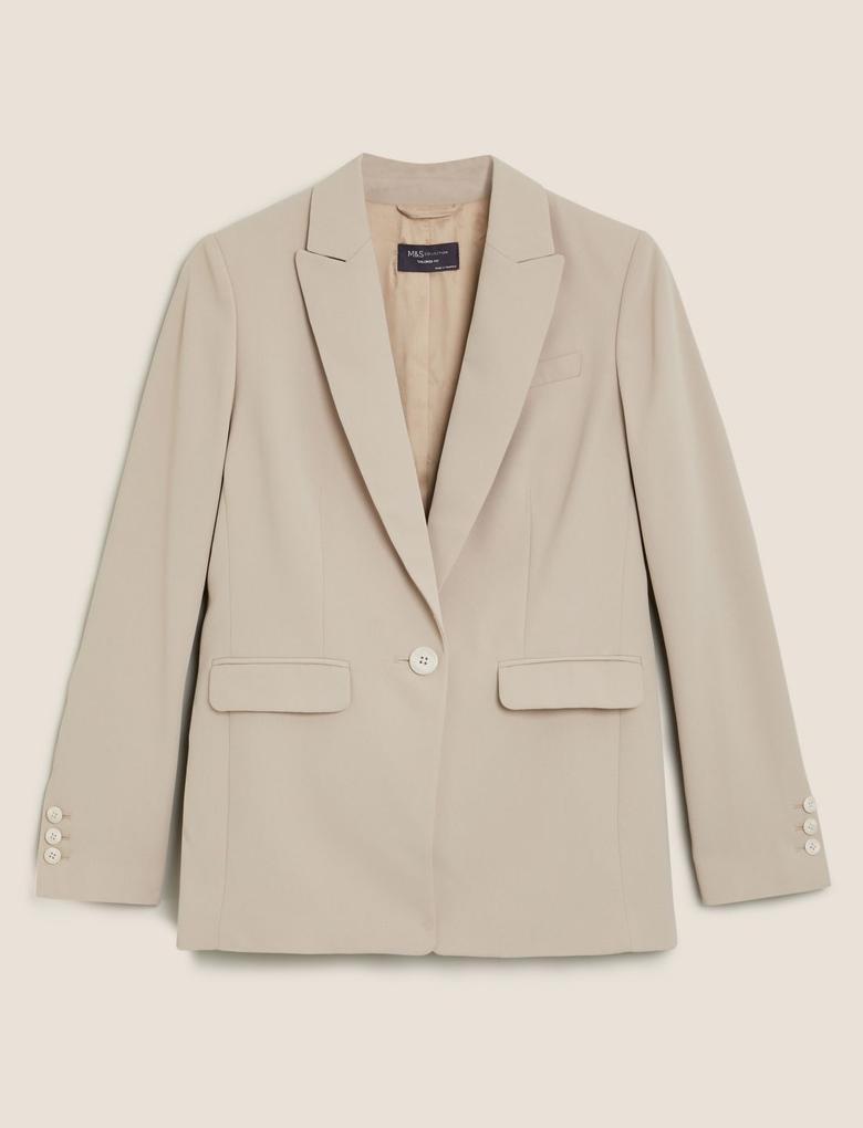 Kadın Renksiz Blazer Ceket