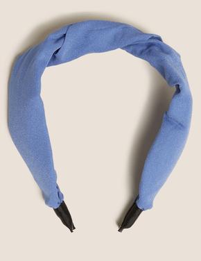 Kadın Mavi Saç Bandı