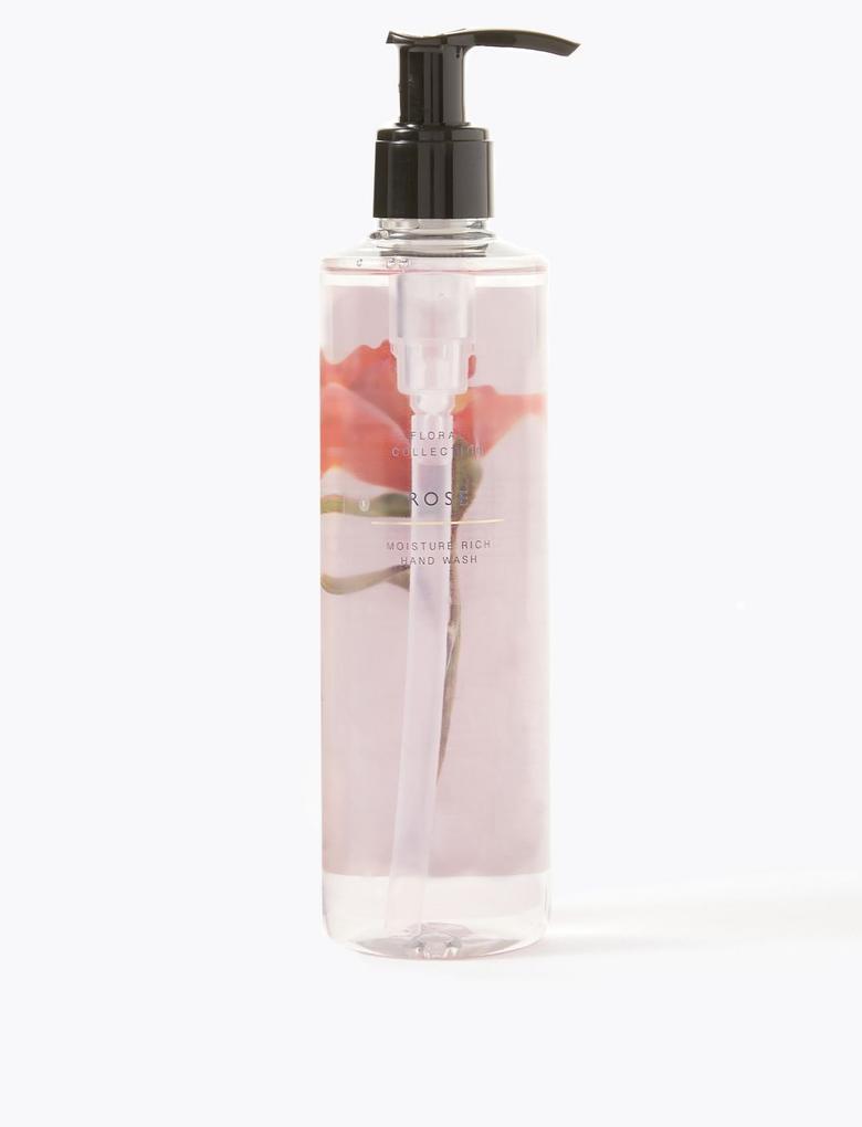 Kozmetik Renksiz Gül Kokulu Sıvı Sabun