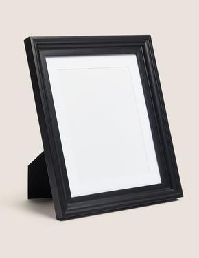 Ev Siyah Ahşap Fotoğraf Çerçevesi