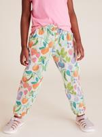 Kız Çocuk Multi Renk Çiçek Desenli Pantolon
