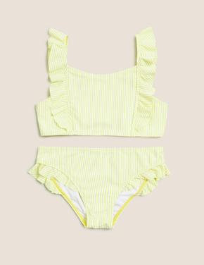 Kız Çocuk Sarı 2'li Bikini Seti