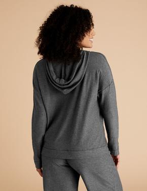 Kadın Gri Flexifit™ Sweatshirt