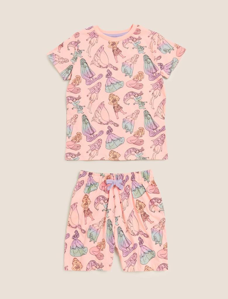 Çocuk Mor Disney Princess™ Desenli Pijama Takımı