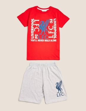 Çocuk Multi Renk Liverpool FC™ Baskılı Pijama Takımı