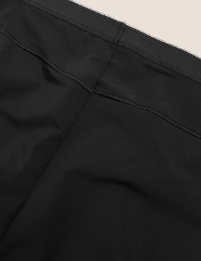 Kadın Siyah 2'li Düşük Sıkılıkta No Vpl Full Brief Külot Seti