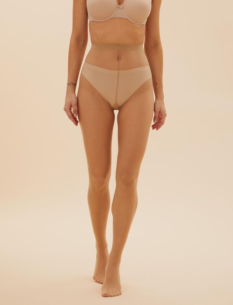 Kadın Bej 8 Denier Cool Comfort™ Çorap