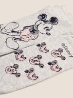 Kadın Gri 3'lü Mickey Mouse™ Çorap Seti
