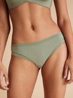 Kadın Yeşil 3'lü Flexifit Modal Brazilian Külot Seti