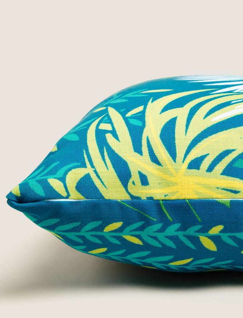 Ev Mavi 2'Li Desenli Yastık