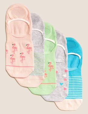 Çocuk Multi Renk Filamingo Baskılı T-Shirt