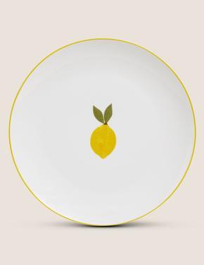 Ev Sarı 12 Parça Yemek Takımı Seti