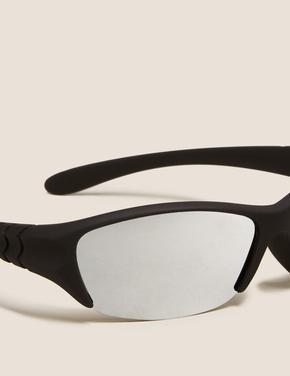Çocuk Siyah Sportif Güneş Gözlüğü