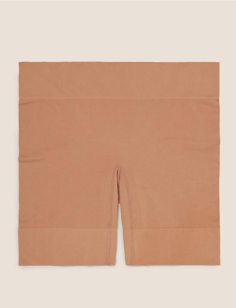 Kadın Kahverengi Cool Comfort™ Sürtünme Önleyici Short Korse