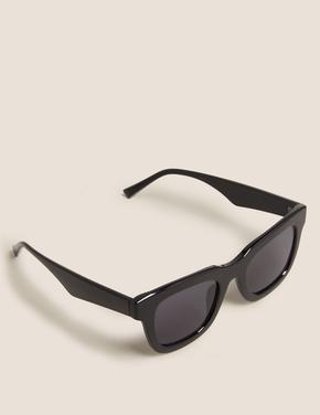 Kadın Siyah Kare Çerçeveli Gözlük