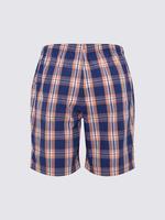 Erkek Pembe Saf Pamuk Çizgili Pijama Takımı