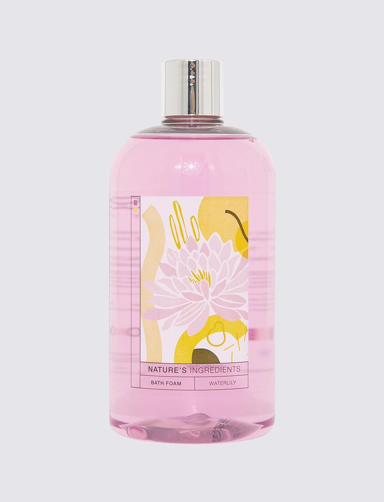 Kozmetik Renksiz Nilüfer Çiçeği Özlü Banyo Köpüğü