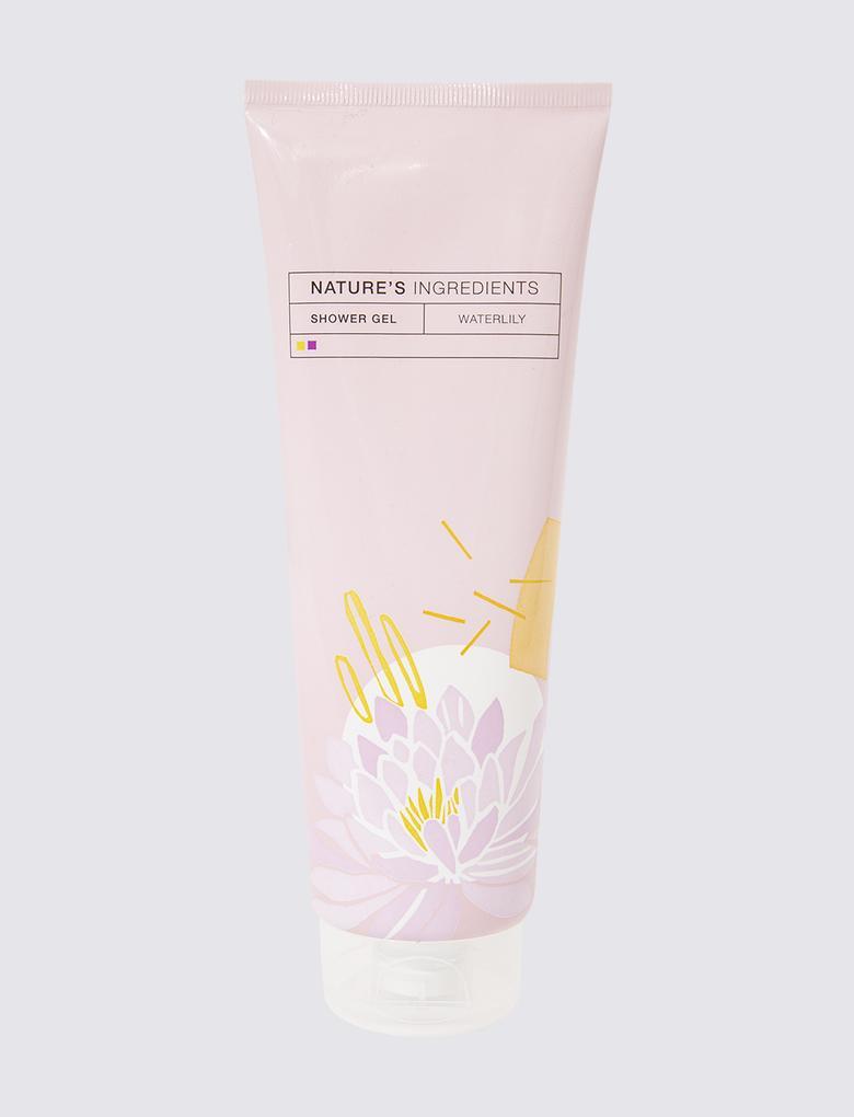 Kozmetik Renksiz Nilüfer Çiçeği Özlü Duş Jeli