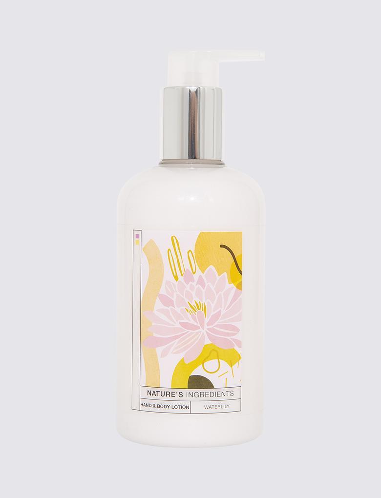 Kozmetik Renksiz Nilüfer Çiçeği Özlü El ve Vücut Losyonu