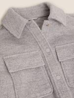 Kadın Gri Örme Ceket