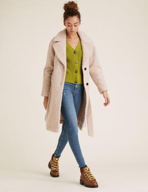 Kadın Mavi Supersoft Skinny Fit Jean Pantolon