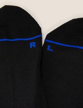 Erkek Siyah 5'li Trainer Çorap Seti